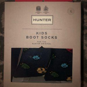 Little boys hunter boot socks